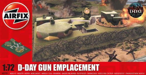 D-Day Gun Emplacement in 1:72
