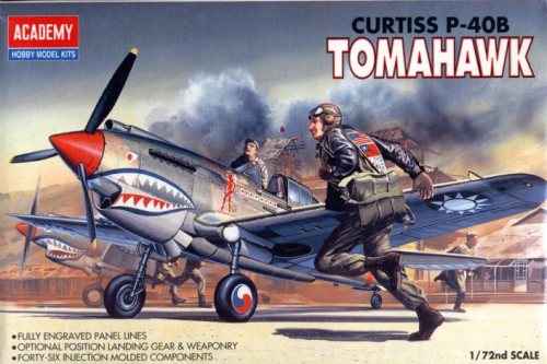 Curtiss P40B Tomahawk