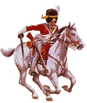 2nd Dragoon Scots Greys 1815