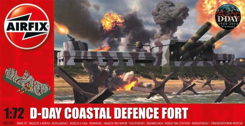 D-Day Coastel Defence Fort in 1:72