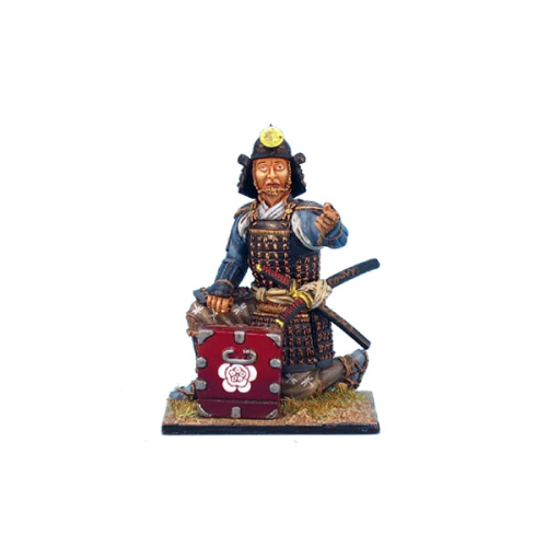 Samurai Kneeling with Cartridge Box - Oda Clan