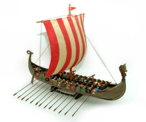 "Viking Ship  ""The Sea Raider"""