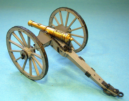 British Foot Artillery, 6lb Cannon