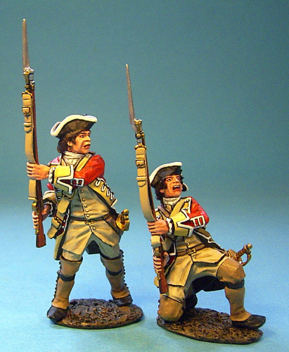 British Line Infantry, At The Ready