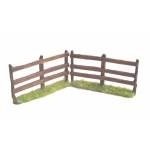 84mm wooden fence x 2