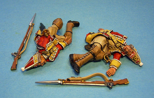 44th Regiment of Foot ,British Grenadiers, 2 Casualties