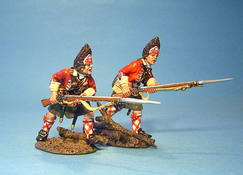 42nd REGIMENT OF FOOT -  Grenadiers Advancing