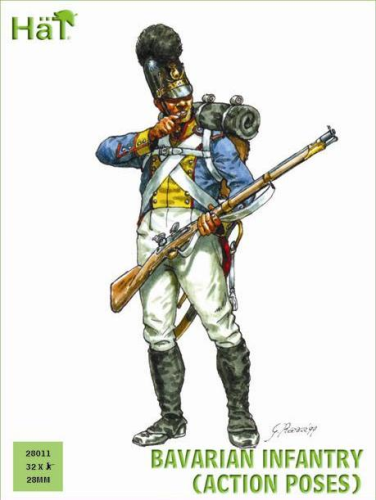 Bavarian Infantry (Action)