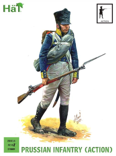 Prussian Infantry (Action)