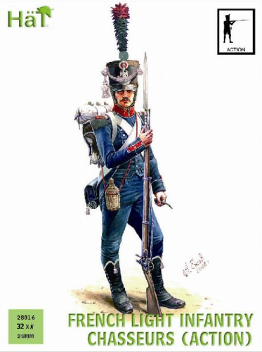 French Light Infantry Action