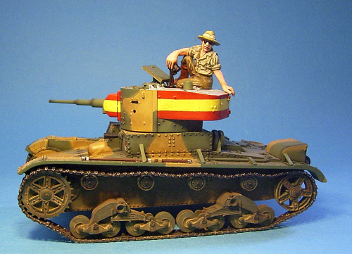 T-26 Light Tank, Tank Commander