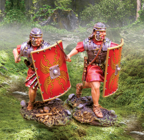 Romans Advancing