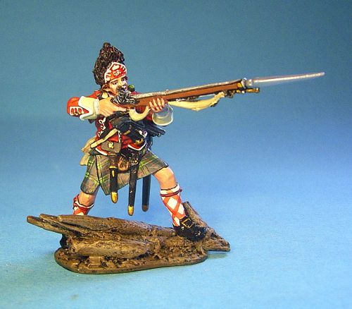 42nd REGIMENT OF FOOT,Grenadier Standing Firing