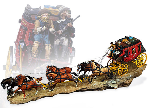 OVERLAND STAGECOACH