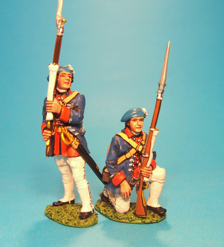 REGIMENT ROYAL ECOSSOIS, Line Infantry at the ready