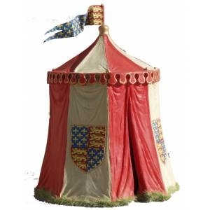 Medieaval campaign tent - Heinrich V.