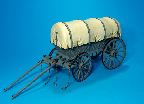 BRITISH AMMUNITION WAGON, circa 1812 - 1814