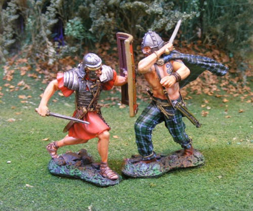 Celtic/Roman Combat (2 figs)