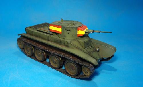 "NATIONALIST, BT-5, ""Fast Tank"","