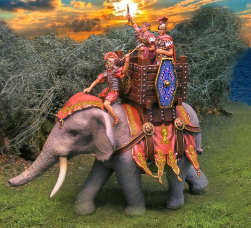 Elephant for Claudius