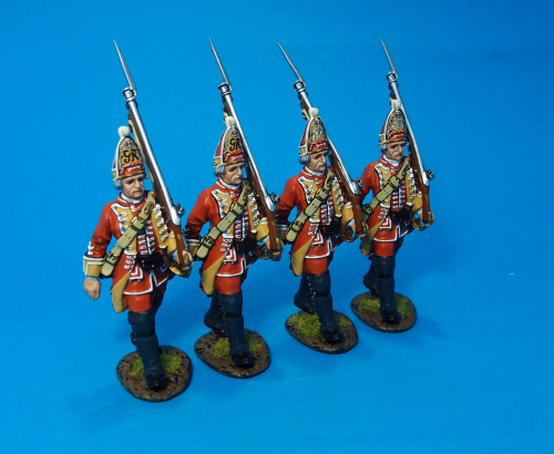 British, 35th Regiment of Foot,Grenadier Marching, Box Set#1