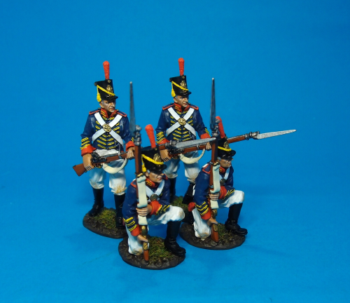 4 MARINES At The Ready, Box Set