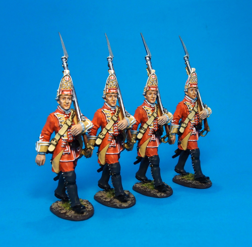 British, 35th Regiment of Foot,Grenadier Marching, Box Set#2
