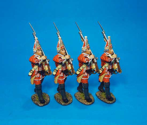 British, 35th Regiment of Foot,Grenadier Marching, Box Set#3