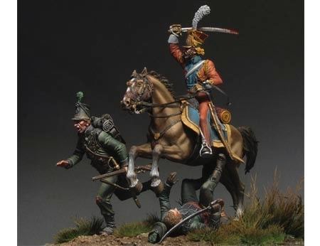 "Imperial Guard Lancer ""Hunting for Grasshoppers"" - Waterloo 1815"
