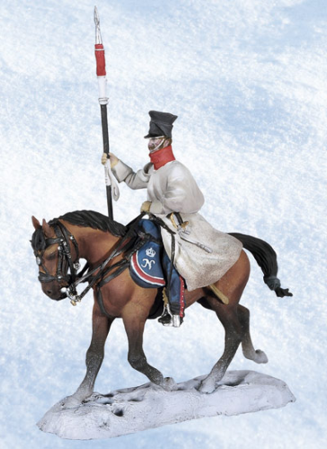 Polish Lancer on Horseback