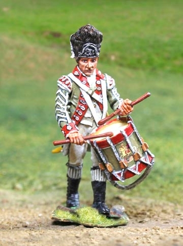 British Grenadier Drummer