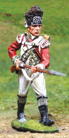 British Grenadier  Advancing