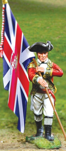 British Grenadier Flagbearer