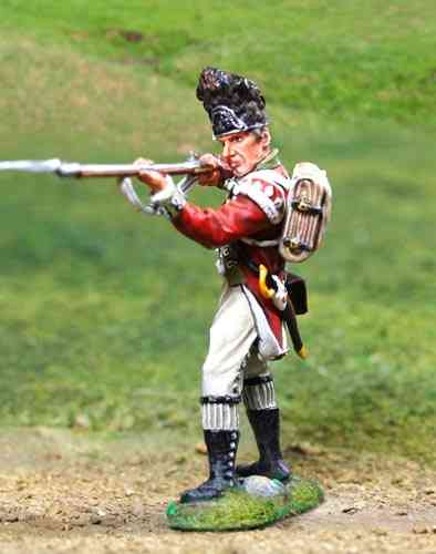 British Grenadier Firing