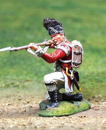 British Grenadier Kneeling Firing