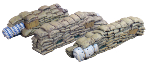 WWI / WWII Sandbag Sections