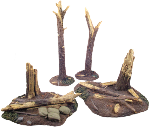 WWI Tree Stumps