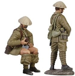 "1916 British Infantry Trench Lift Set No.1, ""When Nature Calls"""