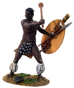 Zulu Warrior Swinging Knobkerrie No.1