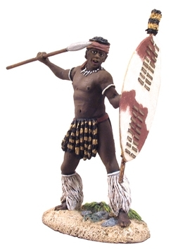 Zulu uDloko Regiment Throwing Assegai No.1