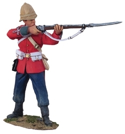 British 24th Foot Standing Firing No.1
