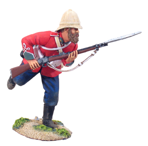 British 24th Foot Charging No.1