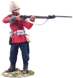 British 24th Foot Colour Sergeant Bourne