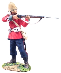 British 24th Foot Standing Firing No.2