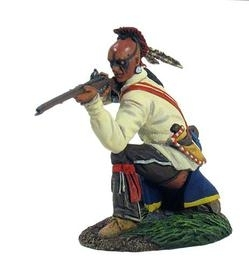 Eastern Woodland Indian Kneeling Firing No.1