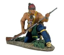 Eastern Woodland Indian Kneeling Loading