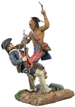 Eastern Woodland Indian and Colonial Militia Hand-to-Hand Set