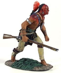 Eastern Woodland Indian Crouching Advancing