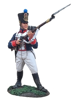 French Line Infantry Fusilier Standing at the Ready No.1
