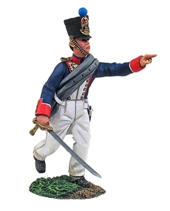 French Line Infantry Fusilier Officer Advancing No.1